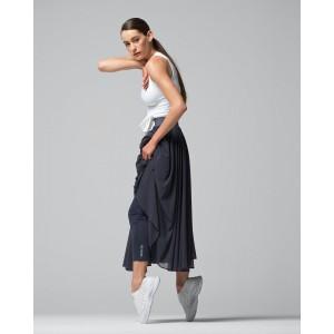 Stretch fishnet mesh skirt