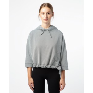 3/4 sleeves sporty-chic top