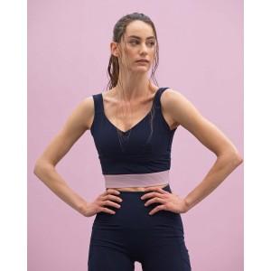 High-stretch bra