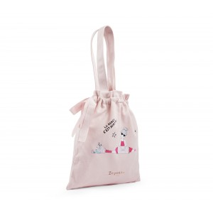 Zizi Rose tote bag with knots