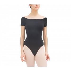 Short sleeved leotard 女装针织连体舞蹈服