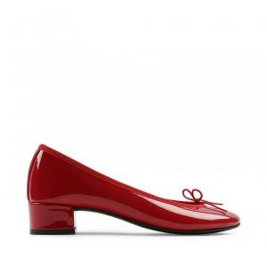 Lou 漆皮芭蕾低跟鞋