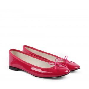 Cendrillon 漆皮芭蕾平底鞋