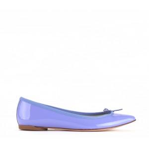Brigitte 漆皮芭蕾平底鞋
