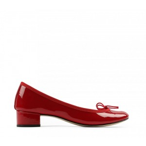 Camille 漆皮芭蕾低跟鞋